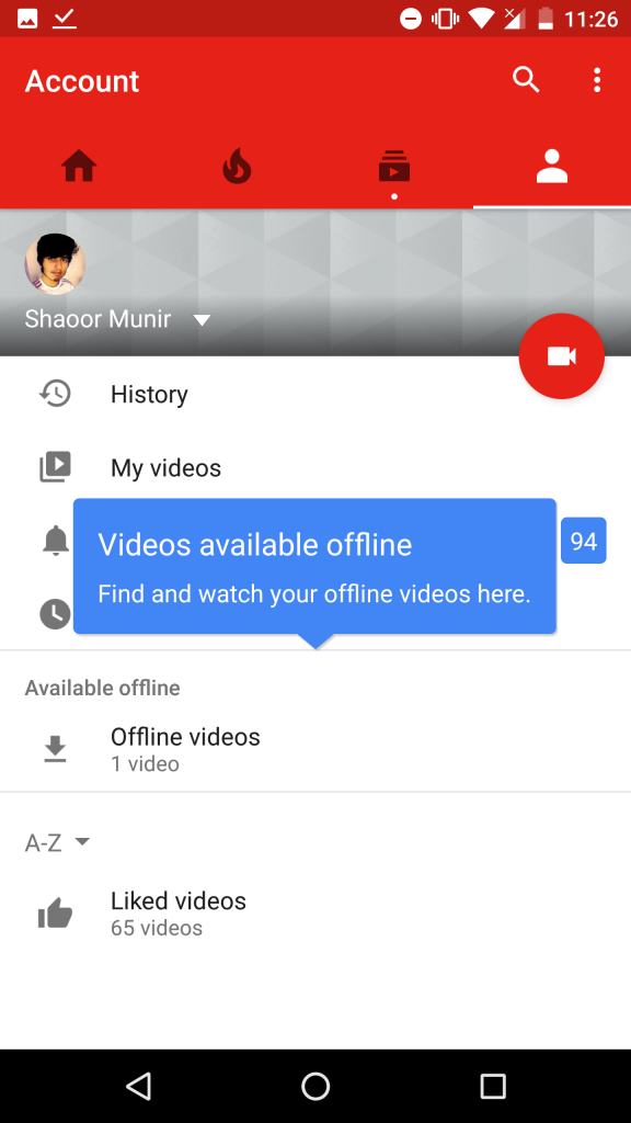 how to change conetted account youtube