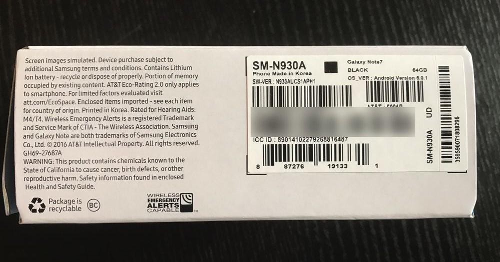 Samsumg Galaxy Note 7