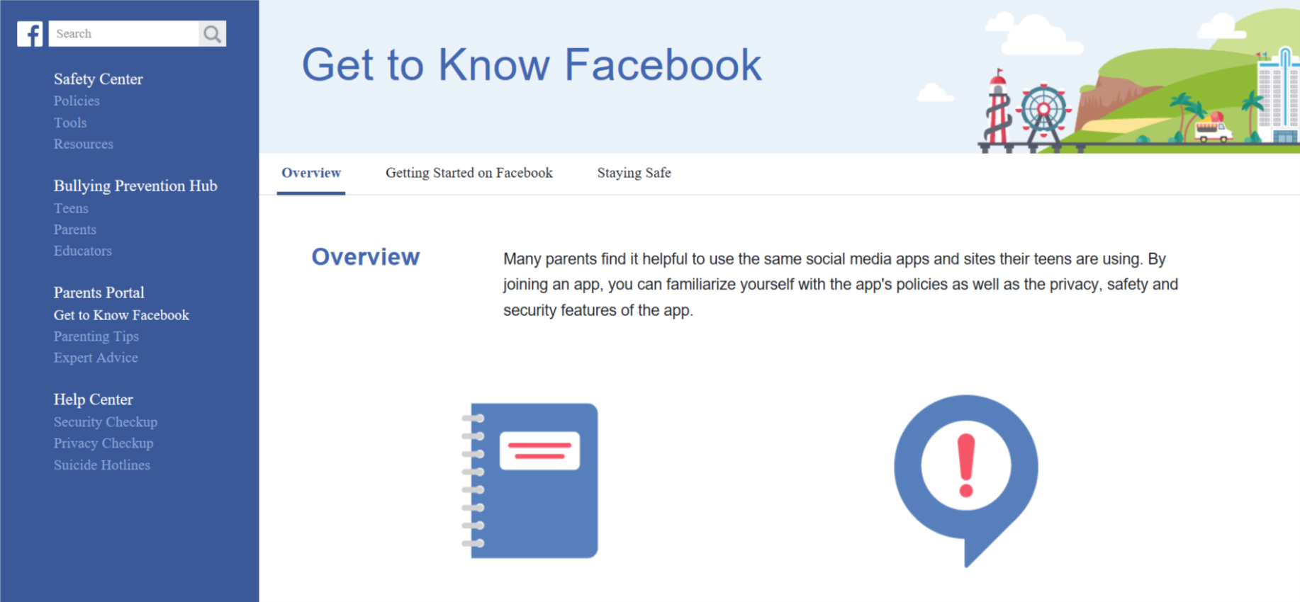 how to create a secure facebook account