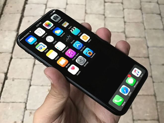 Apple iPhone 8 OLED concept