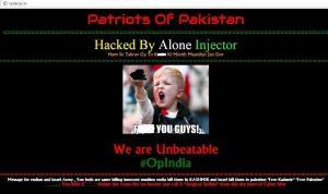 india hacked