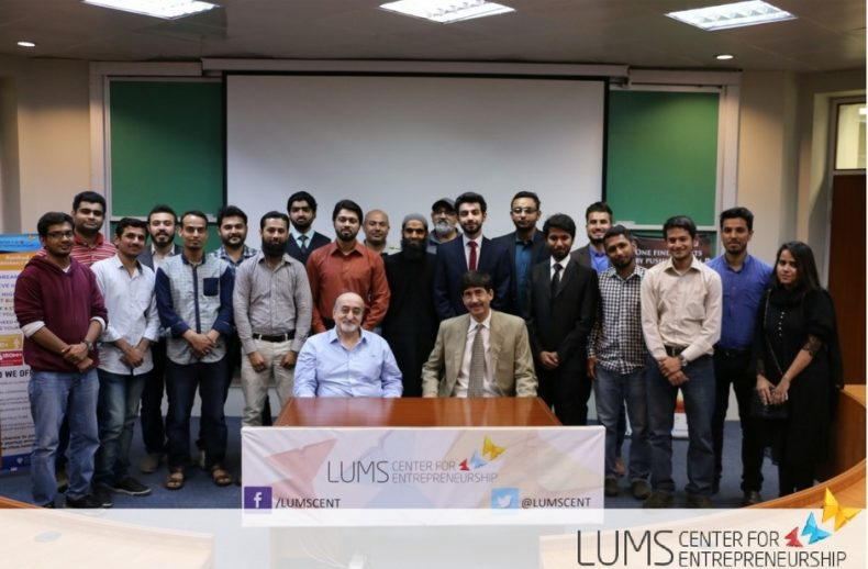 LUMS Center for Entrepreneurship 7th Batch
