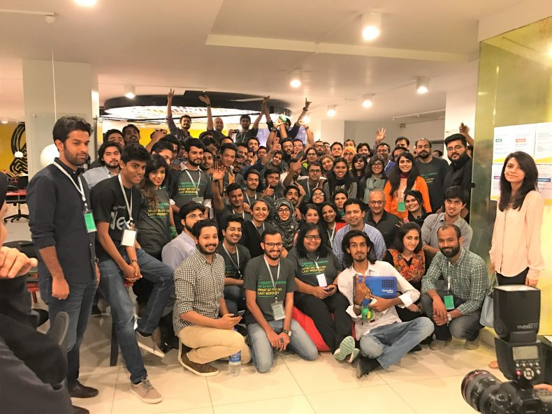 Startup weekend nest io Participants Group Photo