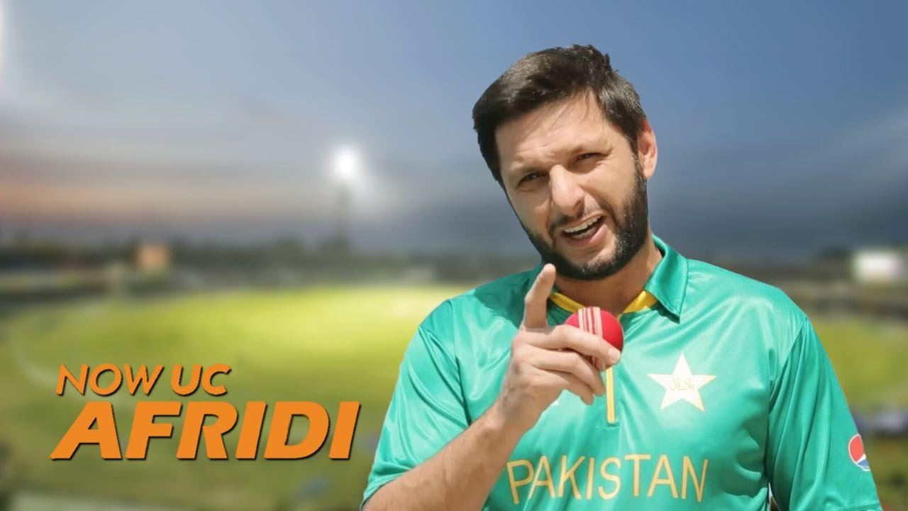 UC Browser Signs Shahid Afridi As Brand Ambassador