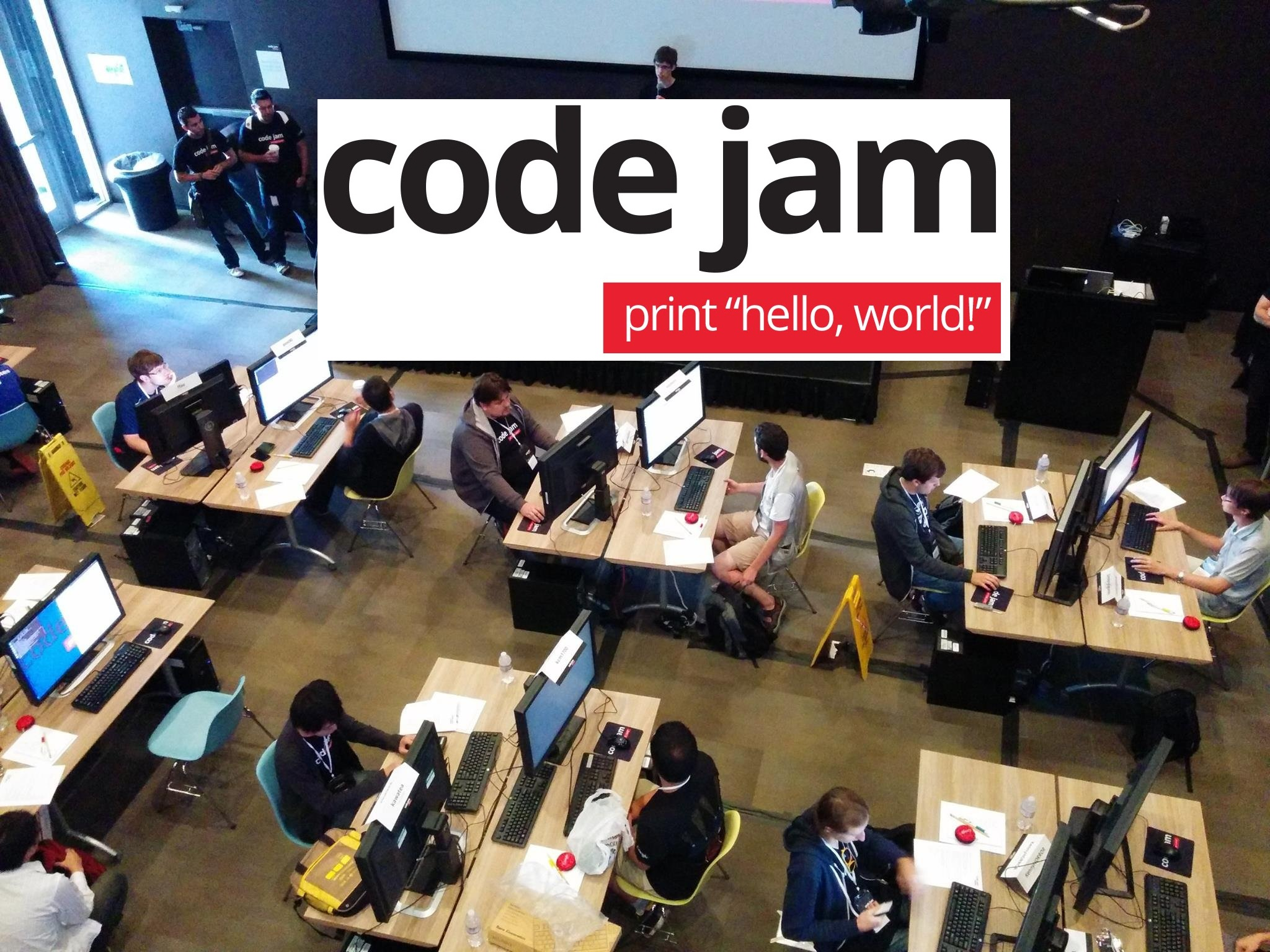 google code jam returns   cash prize