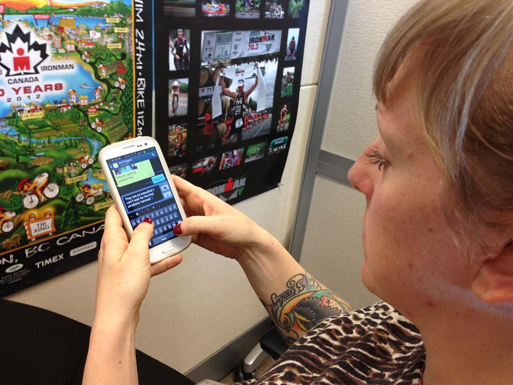 New Samsung chat app helps people with aphasia