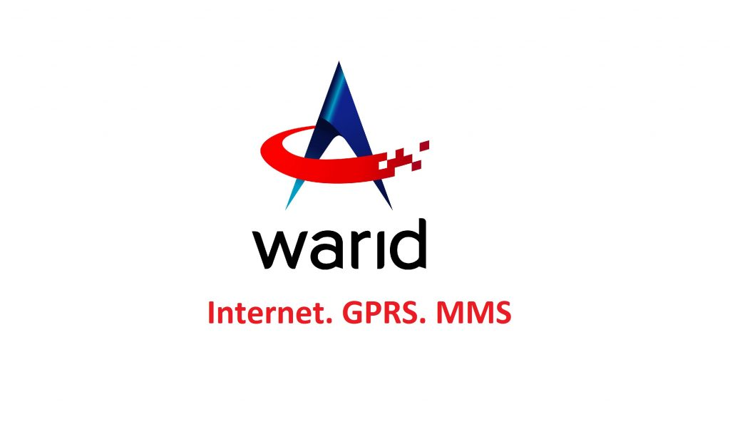 Warid 3G/4G Internet Settings & MMS Settings