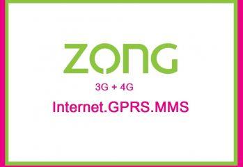 zong internet settings gprs mms