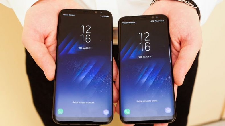 samsung galaxy s8 display s8 plus