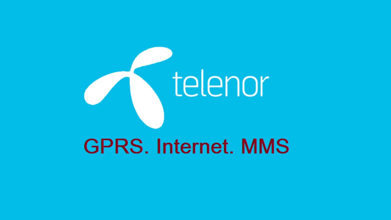 Telenor 3G/4G Internet Settings & MMS Settings