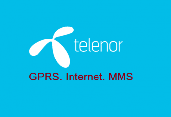 telenor internet settings gprs mms