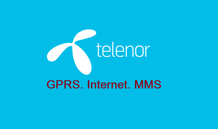 Telenor 3G/4G Internet Settings & MMS Settings