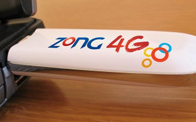 Zong 3G/4G Internet Device Packages: Dongles, Wingles & MiFi