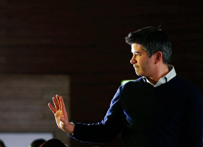 Under fire Uber chief executive Travis Kalanick resigns following shareholder pressure