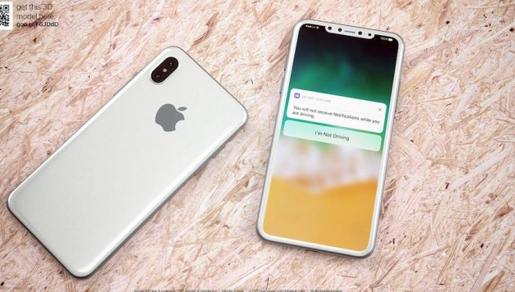 Apple iPhone 8 to Feature Rear-facing 3D Laser System