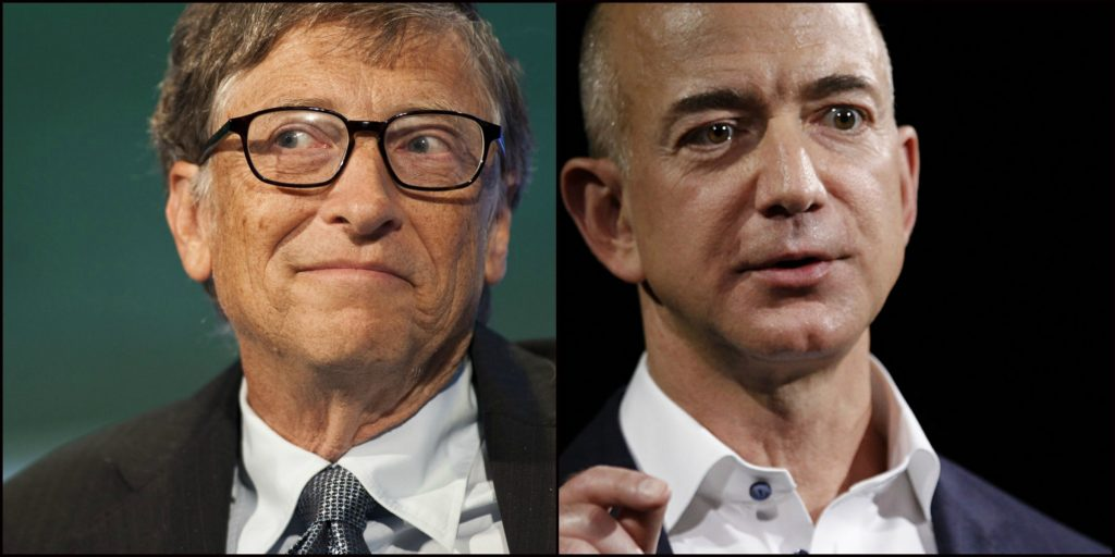 In Just A Few Hours Bill Gates Beats Jeff Bezos To Become The