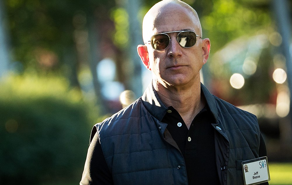 Black Friday Sales Push Amazon's Bezos To Net Worth Of $100 Billion