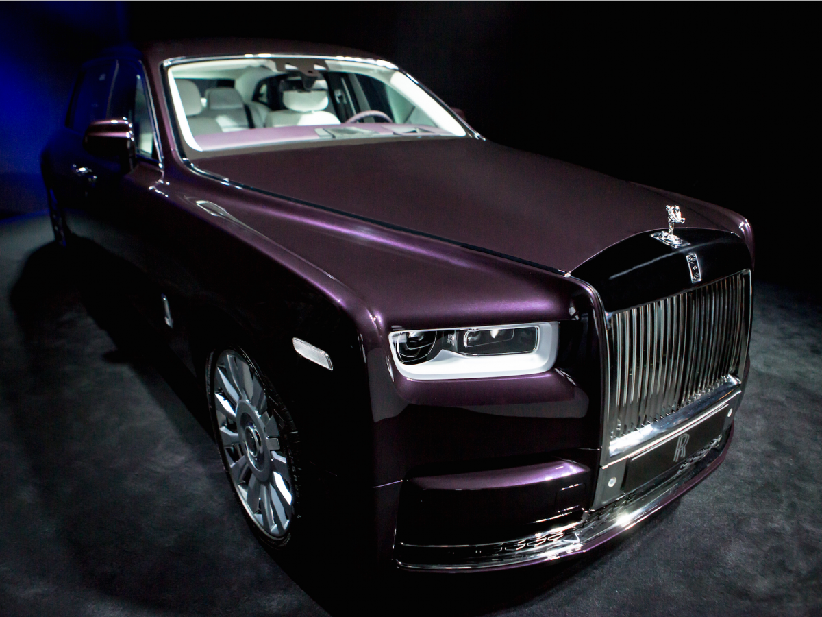 The New Rolls-Royce Phantom is the most technologically ...