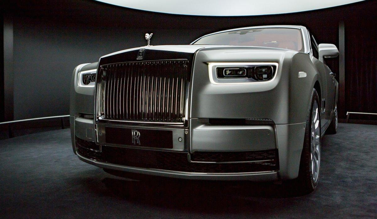Rolls-Royce Phantom Front
