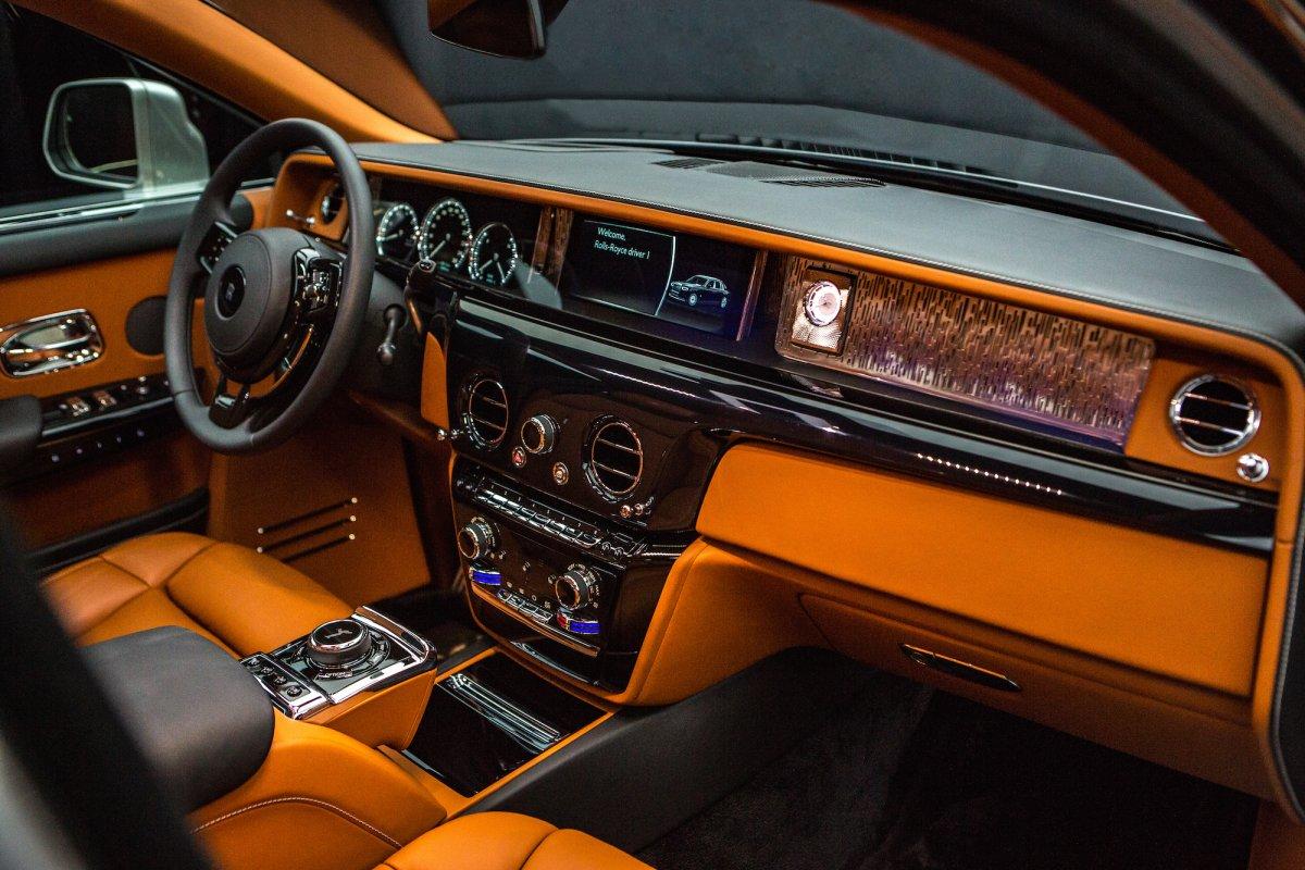 Rolls-Royce Phantom Dashboard