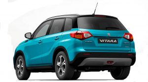 Suzuki Vitara-Back