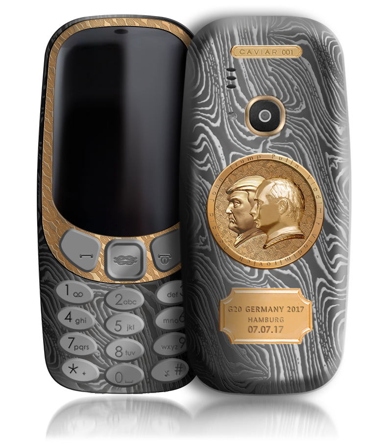 Nokia 3310 Luxury 'Putin-Trump' Summit Edition unveiled commemorating G-20 Summit