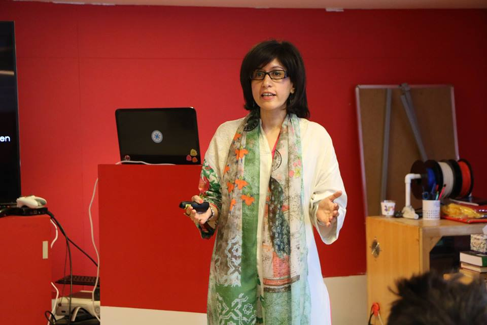 Sadaffe Abid, founder CIRCLE