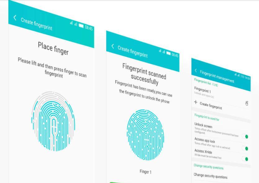 Infinix Note 4-Fingerprint