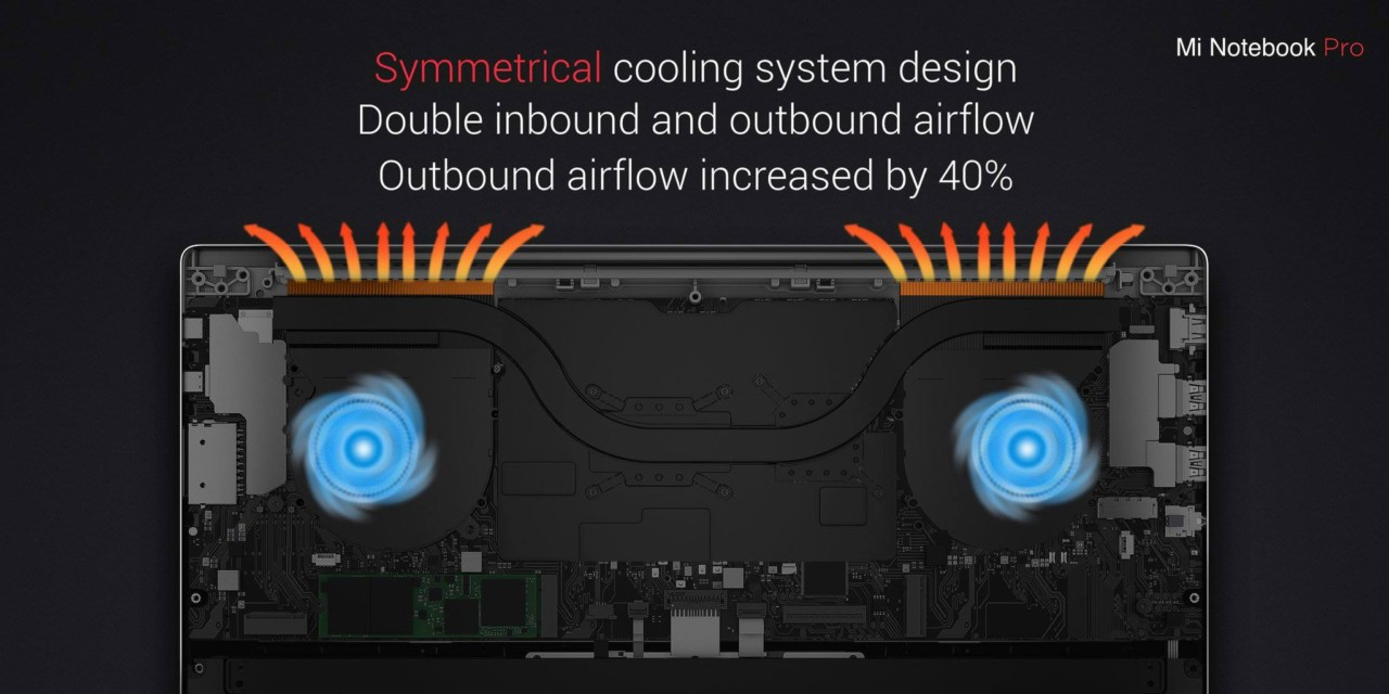 Mi-Notebook-Pro-cooling
