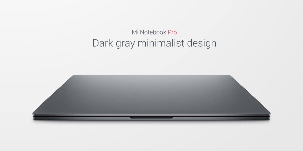 Mi-Notebook-Pro-design