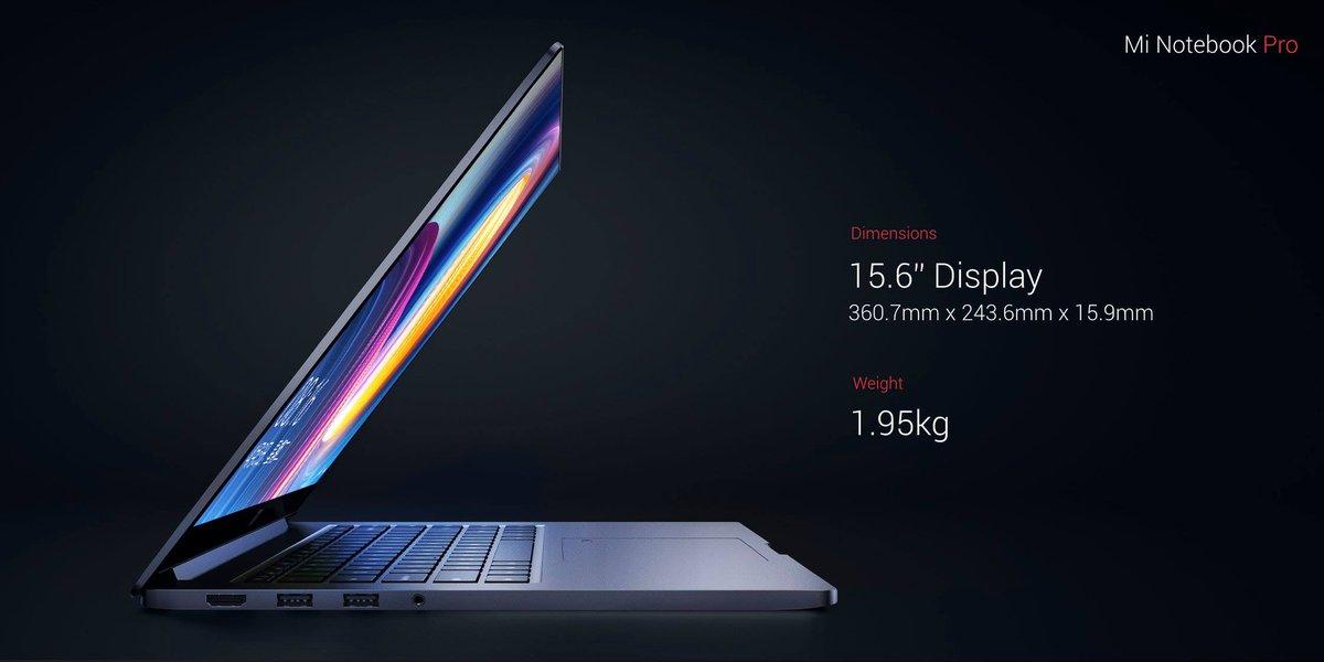 Mi-Notebook-Pro-weight