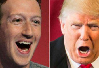 Zuckerberg - Trump