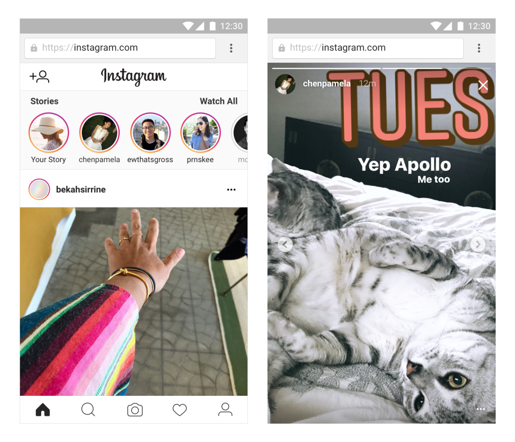 Bringing Instagram Stories to Mobile Web