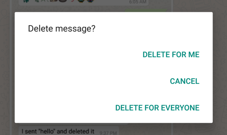 how to look up deleted whatsapp messages