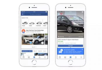 Facebook Market Place Vehicles
