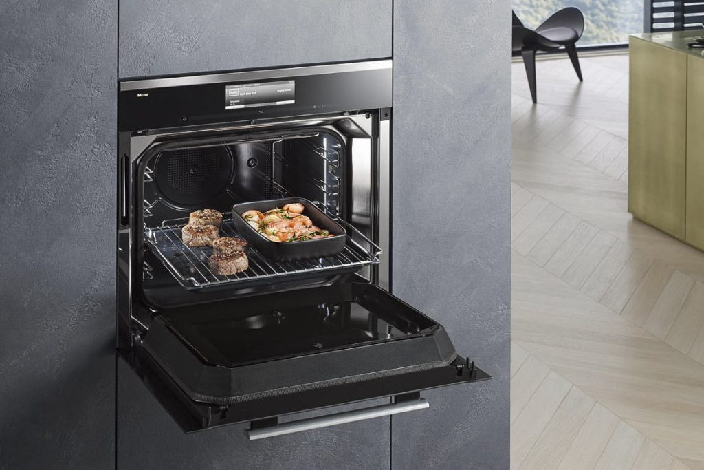 Miele's RF cooking oven will consume less electricity. The company claims that it will be no match for 're-heating machine' microwave oven.
