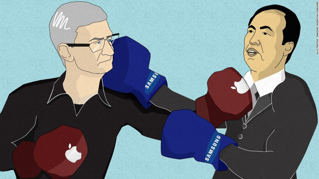 Samsung and Apple to face each other again on 2nd patent ...