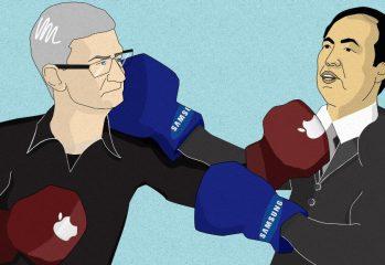 Samsung Apple patent infringement