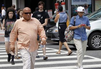 Smartphone usage banned on streets