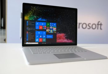 Microsoft has launched the Surface Book 2, the newest version of its flagship notebook computer. The new Surface Book 2 has an updated design.