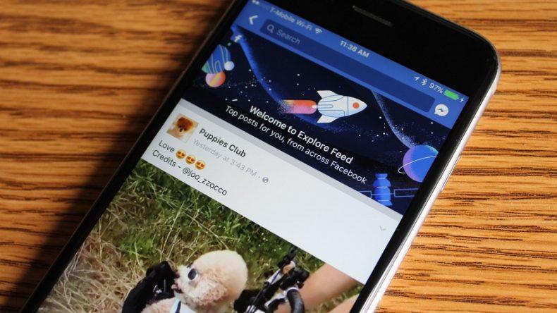 Media News Facebook Explore