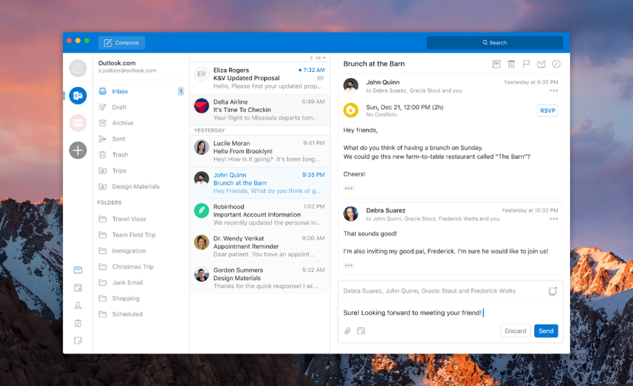 Microsoft To Redesign Outlook For Mac And Windows
