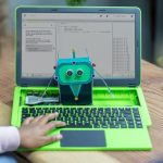 The Raspberry Pi a modular laptop by pi-top has a 14-inch 1080p display and the device can last 8-10 hours after being fully charged.