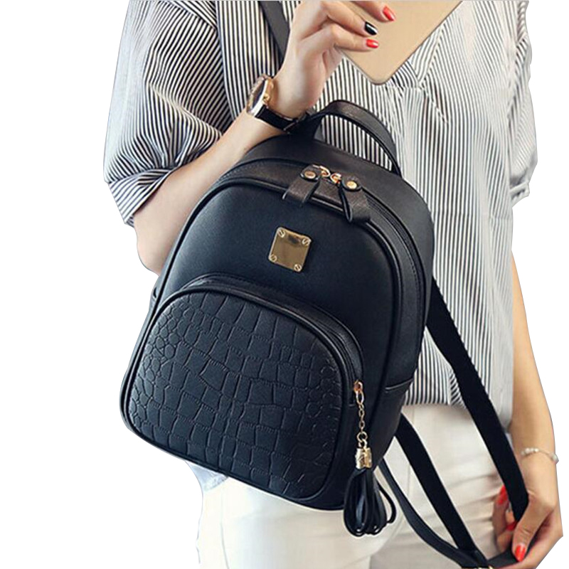 492d90f968b4 COOL WALKER New Fashion Women Backpack with fine leather