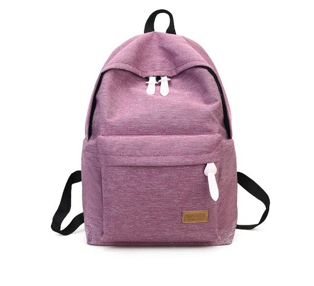DIDA BEAR 2017 Women Canvas Backpacks for women who love to look elegant  while travelling 69be2e963225f