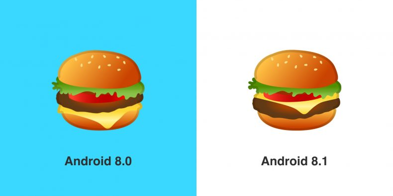 Google Corrected Emoji