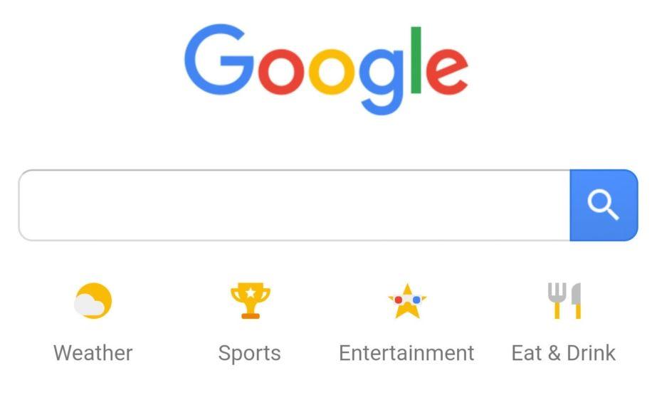 Google search design changes on mobile for Design finder
