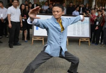 Jack Ma Kung fu movie