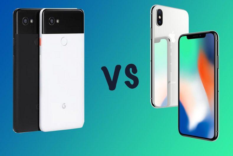 Pixel 2 vs iPhone X