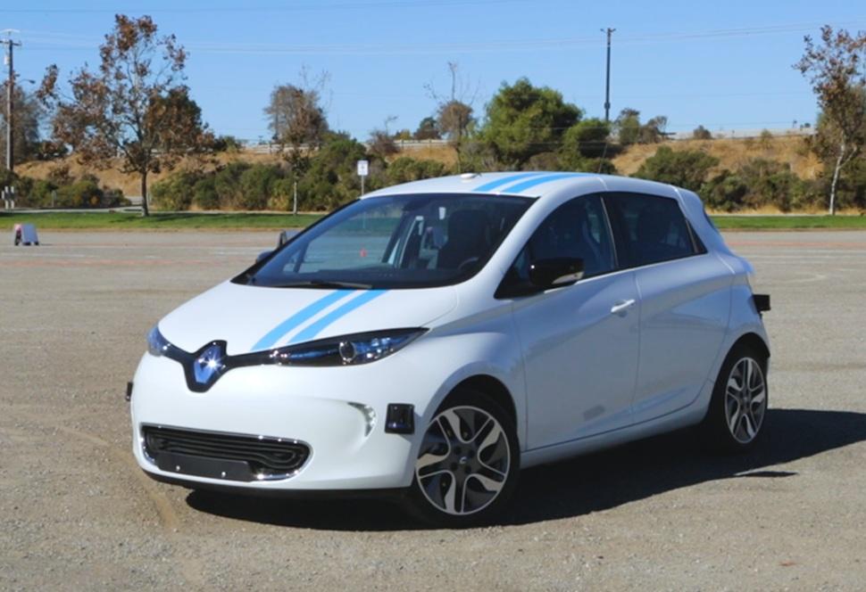 Renault Self Driving Car